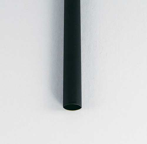 "1/8"" Black Dual/Thin Adhesive Lined Heat Shrink Tubing"