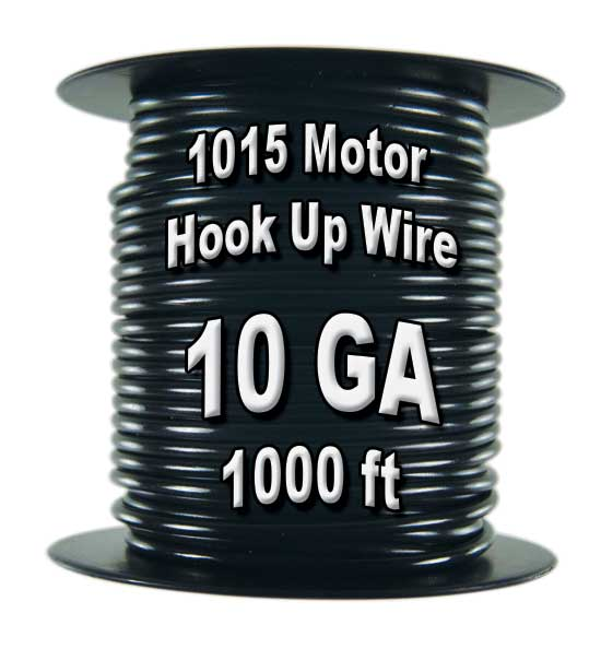 1015 Motor Wire, 10 AWG, 1,000 Ft. Spool