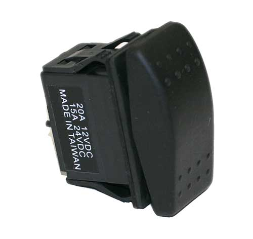 20 Amp 12 Volt S P D T Carling Style Rocker Switches