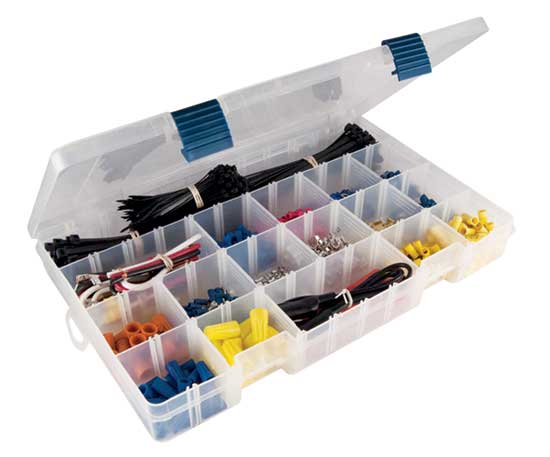 Plastic HVAC/R application wiring kit
