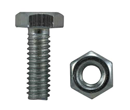 Tractor U Bolts : Garden tractor u battery bolt and nut