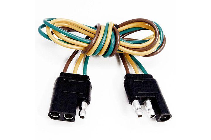3 way flat molded trailer connectors wiring a plug cord wiring a plug cord