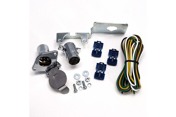 4-Pole Trailer Connector Wiring Kit.
