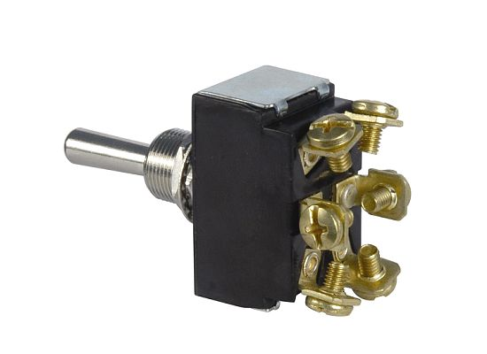 Heavy-Duty Toggle Switch (D.P.D.T. 12 Volt)