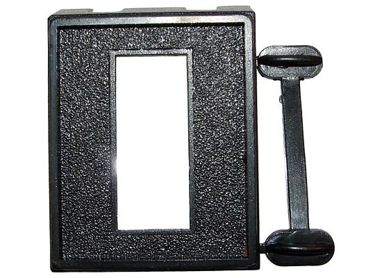 "JT&T (2651E) - Switch Panel Mount with (1) 7/16"" X 1 1/8"" Rectangular Slot, 1 Pc. JT&T (2651E) - Switch Panel Mount with (1) 7/16"" X 1 1/8"" Rectangular Slot, 1 Pc."