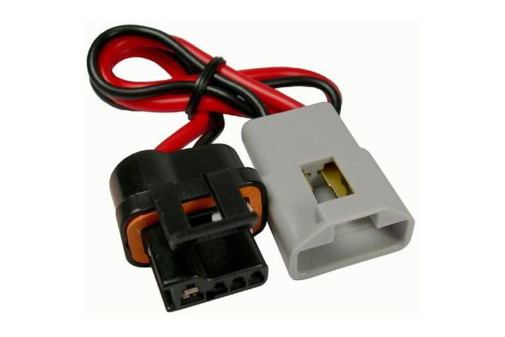 JT&T (2770F) 2-Wire GM Alternator Harness Pigtail Adapts Older GM Vehicles (SI Series) to Newer GM Vehicles (CS Series) w/o Alternator Warning Light, 1988 - 1995, 1 Pc. (PT2145 /  88861073)