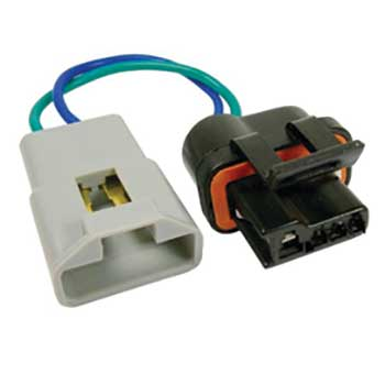 JT&T (2771F) 2-Wire GM Alternator Harness Pigtail Adapts Older GM (SI Series) to Newer GM (CS Series) w/ Alternator Warning Light, 1988 - 1995 JT&T (2771F) 2-Wire GM Alternator Harness Pigtail Adapts Older GM Vehicles (SI Series) to Newer GM Vehicles (CS Series) w/ Alternator Warning Light, 1988 - 1995, 1 Pc. ( PT2145 / 88861073 )