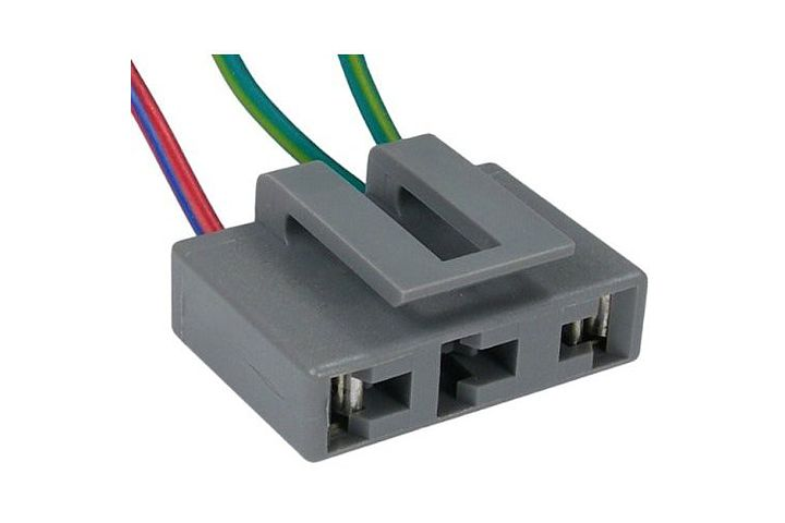 3-Wire Ford Electronic Ignition Coil Connector.