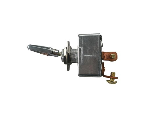 Heavy-Duty (All-Metal) Toggle Switch  (S.P.S.T. 12 Volt)