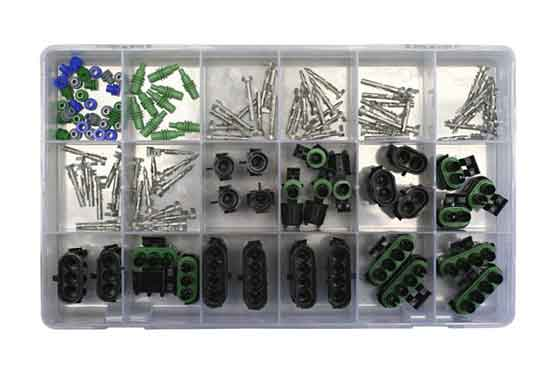 126 Pcs. Weather Pack Starter Kit