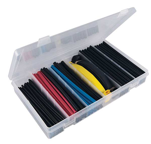 "106 Pcs. 1/8"" thru 3/4"" I.D. Rainbow Heat Shrink Kit"