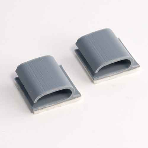 Adhesive Backed Side Load Wire Clips